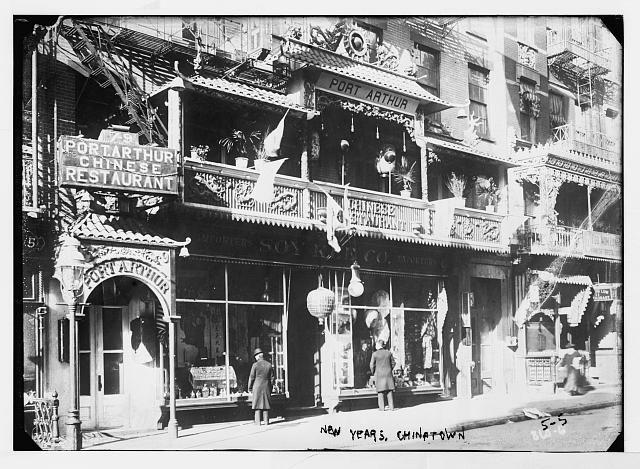 Chinatown New York Restaurant Basement Gambling