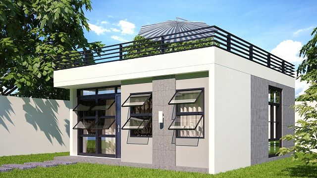 Tiny Home Designs: Expandable Small Housing, Philippines.
