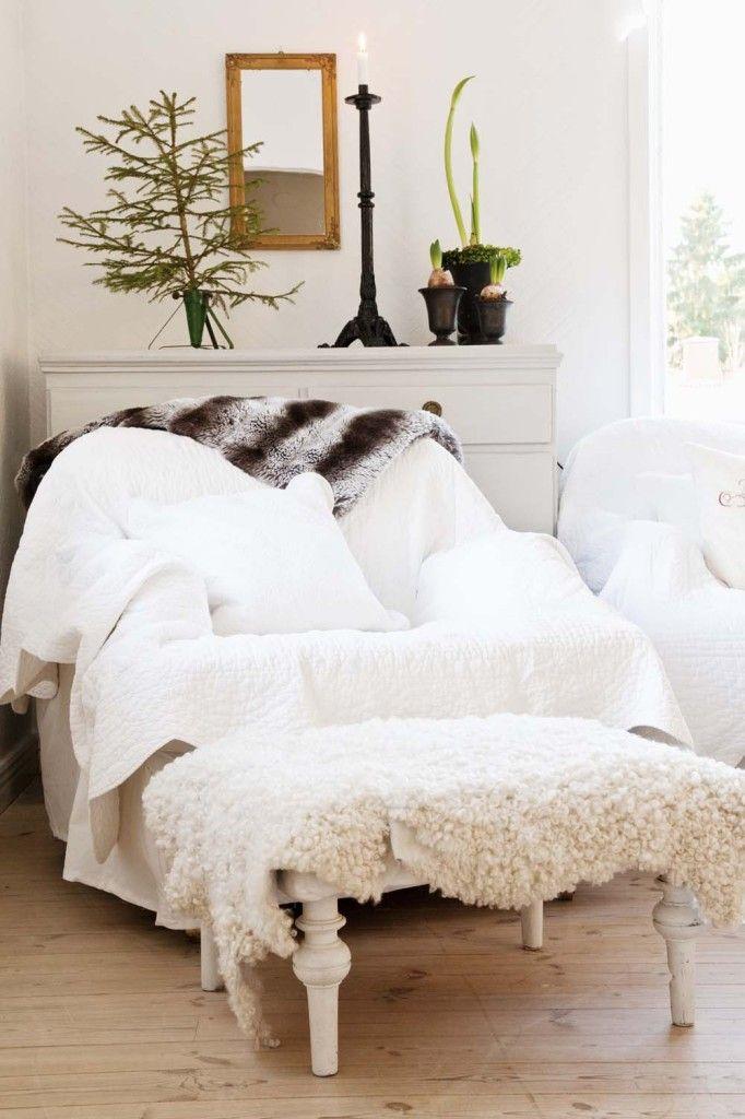 schwedisches winterm rchen weisse r ume home decor. Black Bedroom Furniture Sets. Home Design Ideas