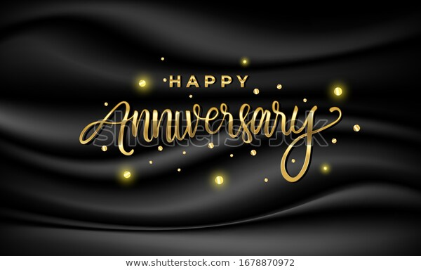 Happy Anniversary Celebration Greeting Vector Illustration