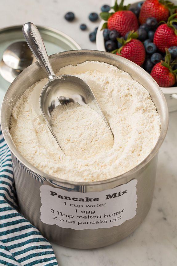 Casera Pancake Mix |  cocinar con clase