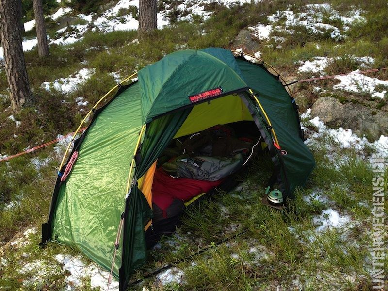 My Hilleberg Soulo on first usage in Norway. I love it! & My Hilleberg Soulo on first usage in Norway. I love it ...