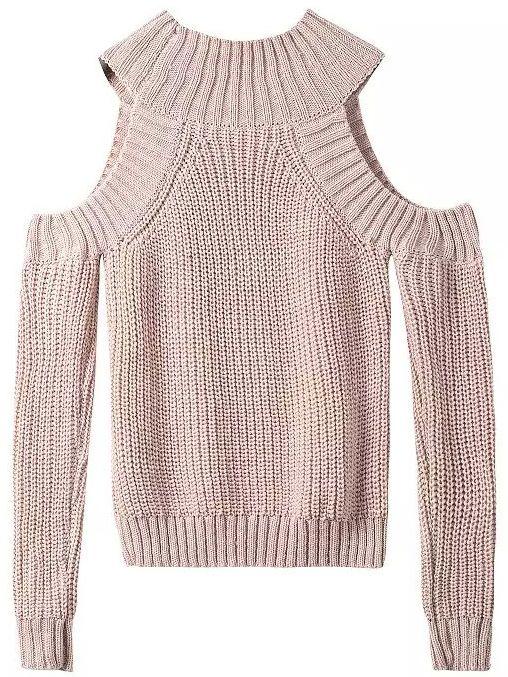 Jersey hombro al aire tejido -albaricoque en 2018   Crochet ...