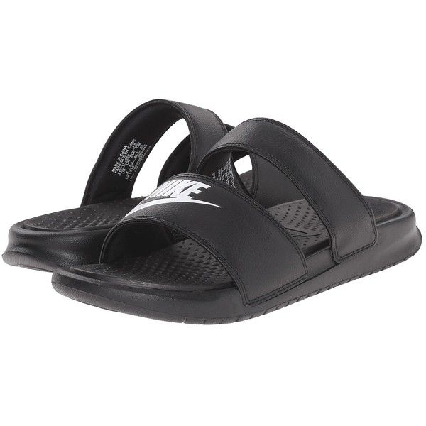 31e4d0d66 Nike Benassi Duo Ultra Slide Women s Slide Shoes ( 35) ❤ liked on Polyvore  featuring