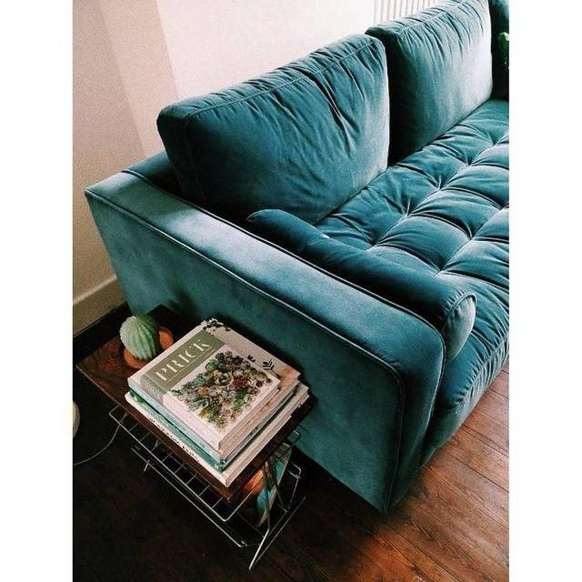 Scott 3 Seater Sofa Navy Cotton Velvet Seater Sofa Beachy Living Room Blue Velvet Sofa