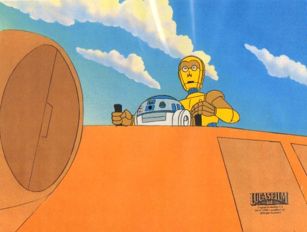 R2-D2 C3-PO Star Wars Droids Cel Photo by gavinodd   Photobucket