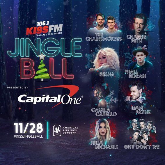 Niall And Liam Will Perform At Jingle Ball And Dallas 10 10 17