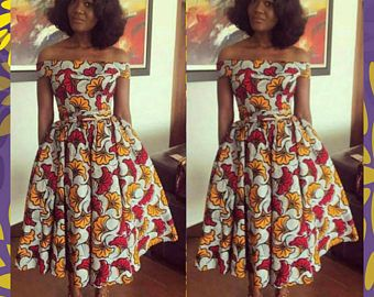 b0611bf3438da8 African Off Shoulder Pencil Dress Ankara Dress African African Dresses For  Women, African Men Fashion