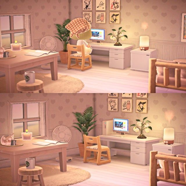 Updated My Bedroom Interior A Little It S So Therapeutic Moving Furniture Around Animalcro In 2020 Animal Crossing Animal Crossing Game Animal Crossing Wild World