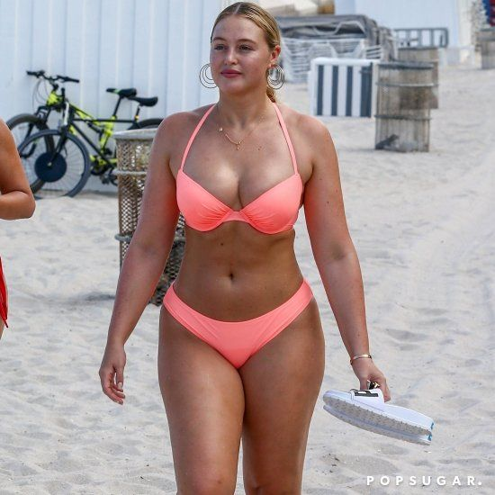 Iskra Lawrence Pink Bikini Miami 2018  72243d7498