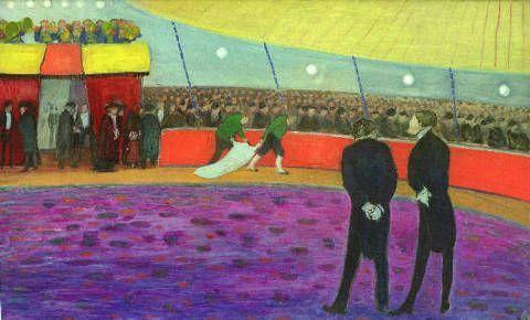 Circus, Marianne von Werefkin, Werefkin,1860-1938,