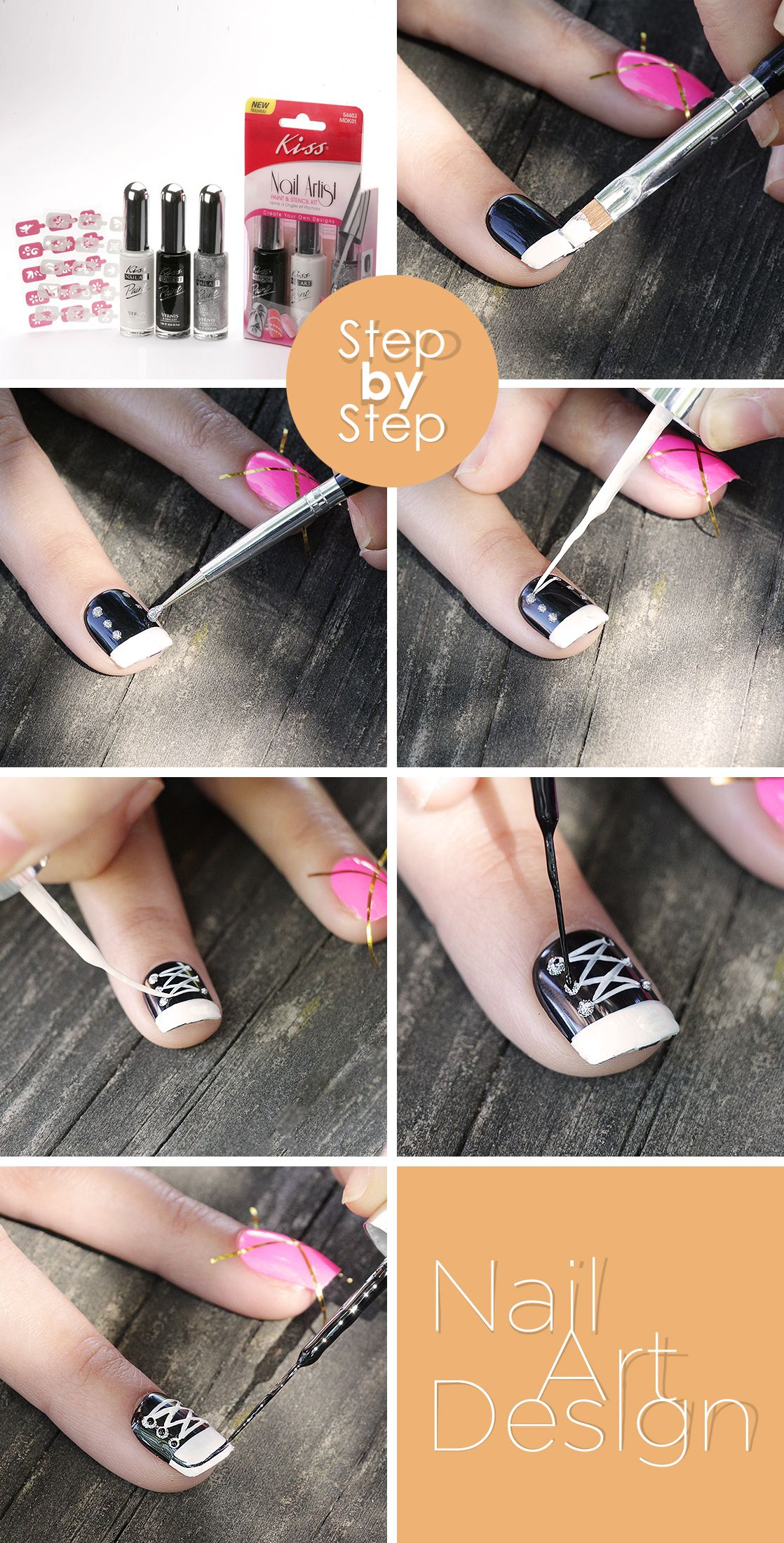 Need An Idea For A Fun Accent Nail Get Creative With Impress Nails