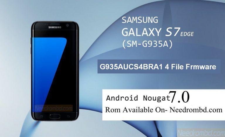 Samsung S7 Edge G935A G935AUCS4BRA1 4 File | Smartphone