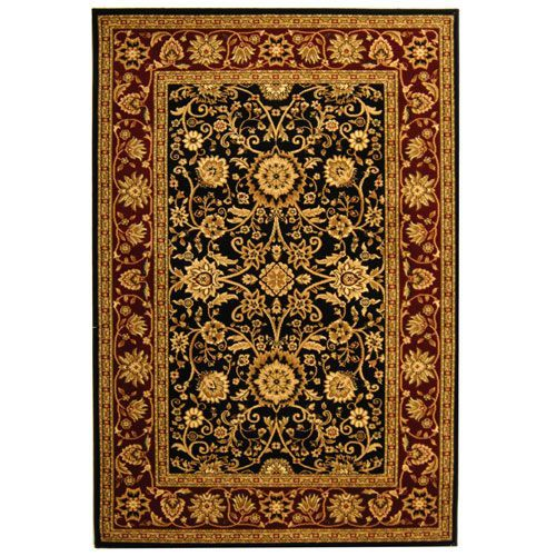 Lyndhurst Black And Red Runner 2 Ft X 12 Ft Rug In Runner Red Rugs Black Area Rugs Area Rugs