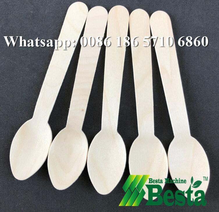Wooden spoon making machine, wooden fork, knife making