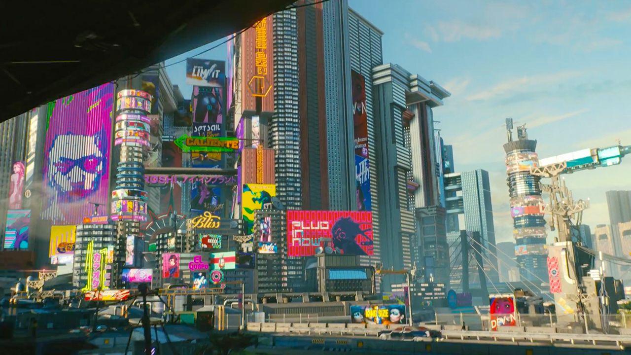 E3 2018 45 Stunning Cyberpunk 2077 Screenshots From New
