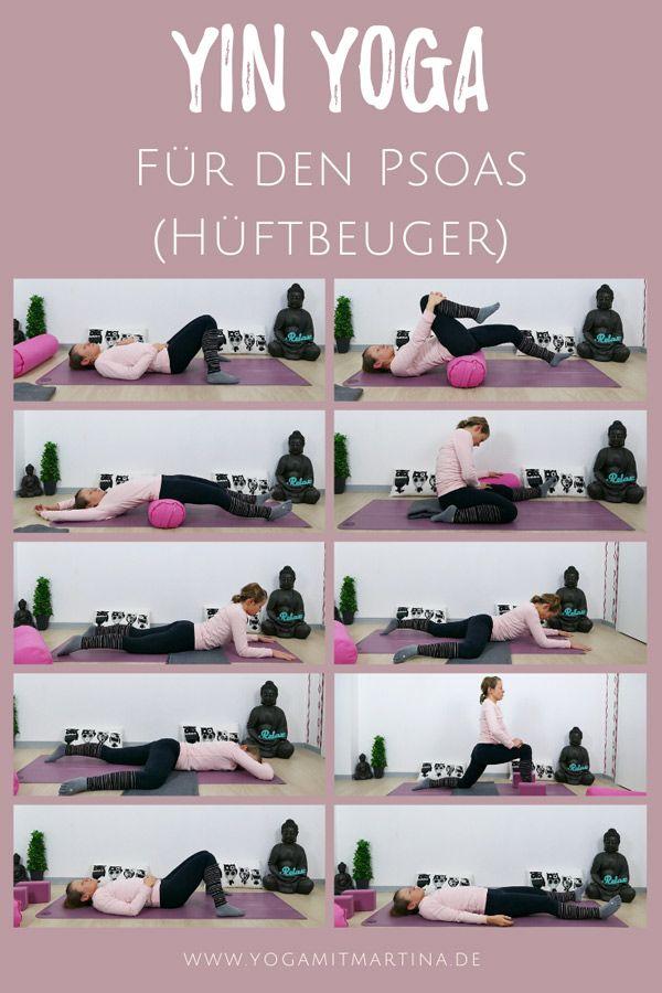 Yin Yoga für den Psoas - Hüftbeuger dehnen - die besten Übungen