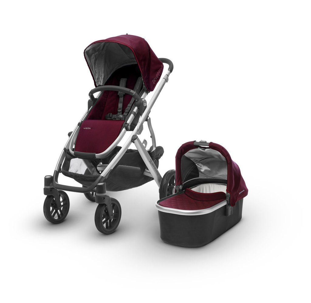 Uppababy Vista 2017 double pram for newborn and toddler ...