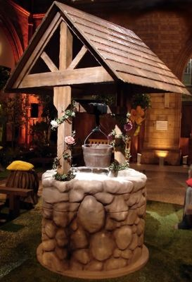 Wishing Well How Does Your Garden Grow Enchanted Forest Theme Enchanted Forest Prom