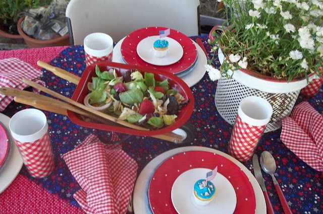 oh my! It's a tiny wheel barrow with salad in it! <3