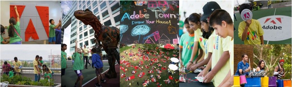 Familes and kids take center stage at Adobe Field Trip #AdobeLife