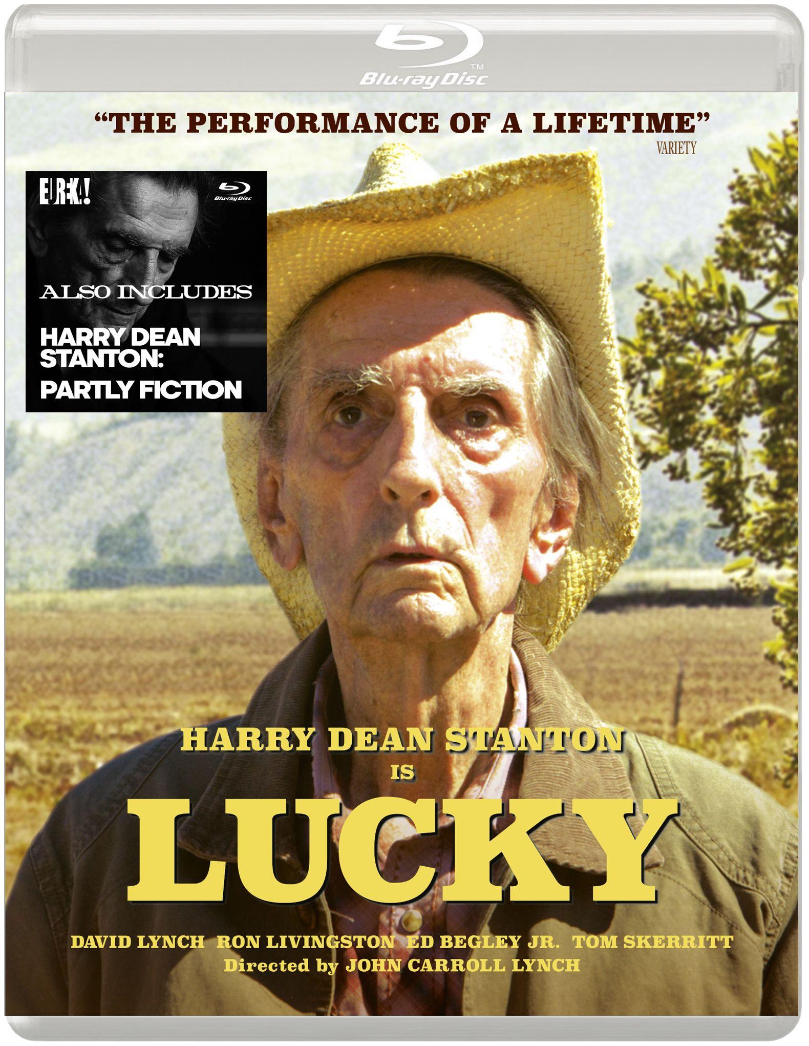 Win LUCKY staring Harry Dean Stanton on Blu-ray | afiş | Dean
