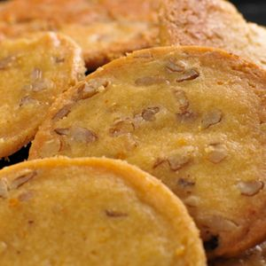 MyRecipes recommends that you make this Bluegrass Winners Pecan-Cheese Wafers recipe from MyRecipes.com user robinarroyave #charlestoncheesedips
