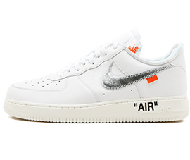 Nike Off White Air Force 1 07 OW Free Shipping Worldwide