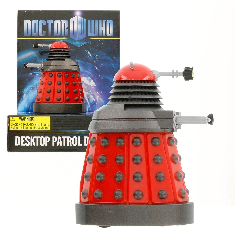 Amazon com: Doctor Who Dalek - Red Desktop Patrol Figure