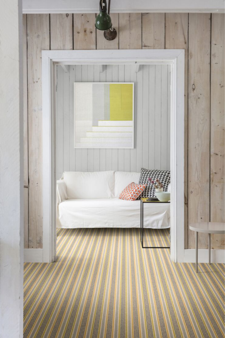 Margo Selby Stripe Sun Shellness Carpet Alternative