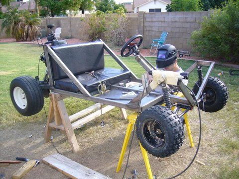 Photo By Kelly Administrator Homemade Go Kart Diy Go Kart Go Kart Designs