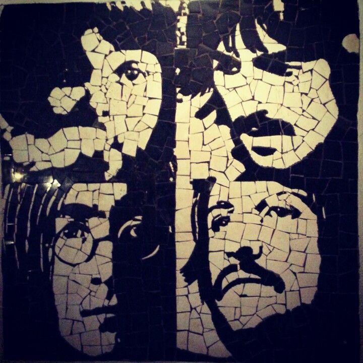 logo the beatles mosaic - Buscar con Google | MosaicBeatles ...