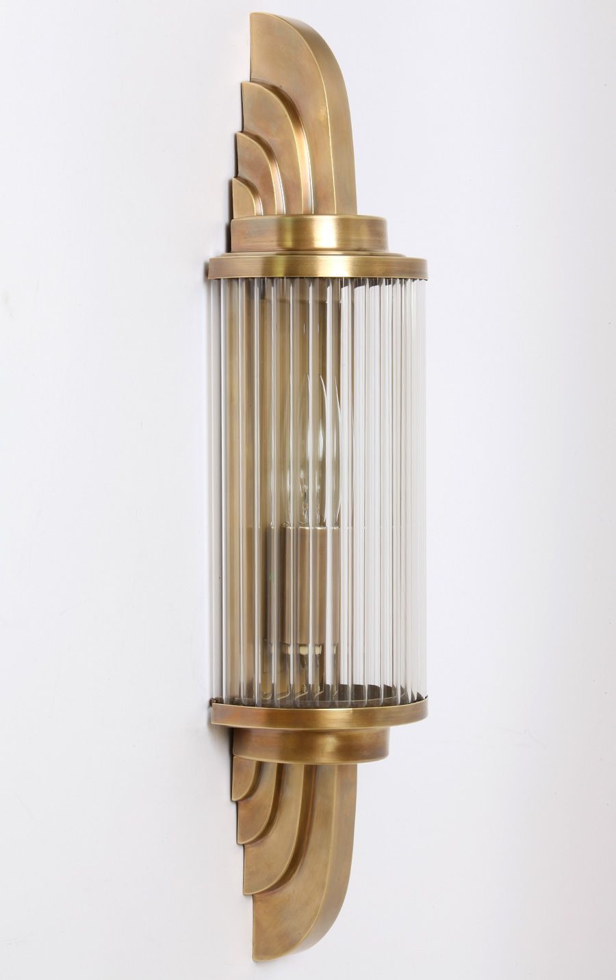Art Deco Light Devoted Industrial Lighting Vintage Brass Wall Sconce Steampunk Lamp