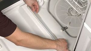 How To Replace A Dishwasher Door Seal Dishwasher Leaking Dishwasher Repair Frigidaire Dishwasher