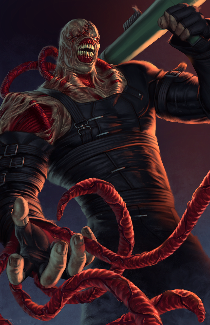Nemesis By Pirate Cashoo Re3 Resident Evil Nemesis Resident