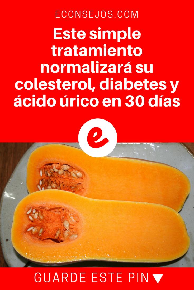 dieta para el colesterol y la diabetes