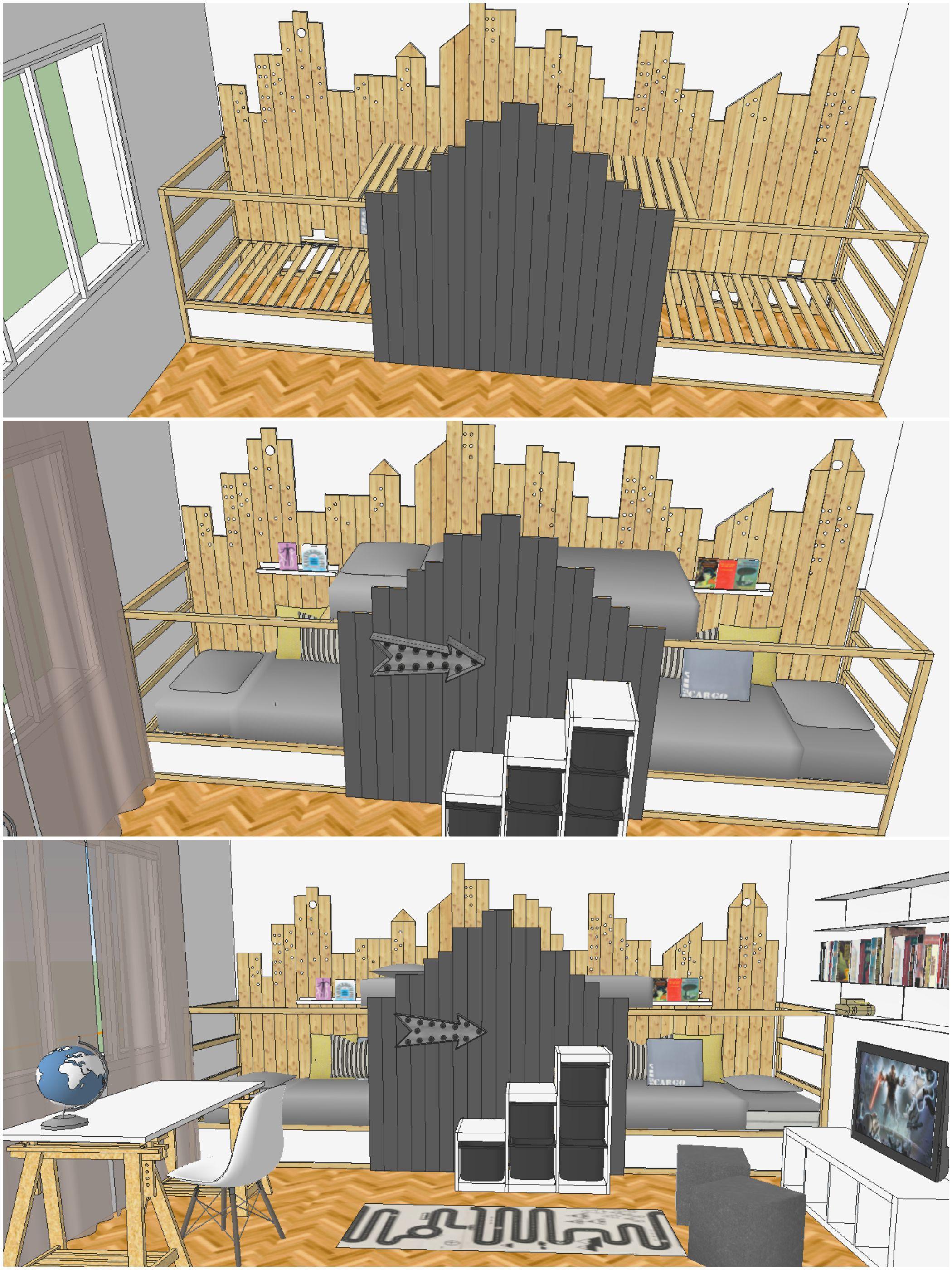 mommo design ikea kura hack angeles pinterest kinderzimmer diy m bel und ideen. Black Bedroom Furniture Sets. Home Design Ideas