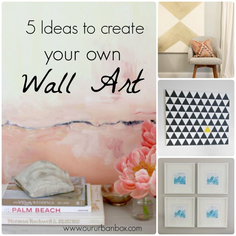 DIY wall art | Our Urban Box