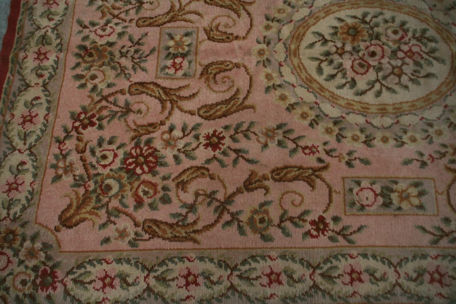 tapis ancien fran ais aubusson savonnerie 163x242 cm tapis d 39 orient tapisseries d 39 aubusson. Black Bedroom Furniture Sets. Home Design Ideas
