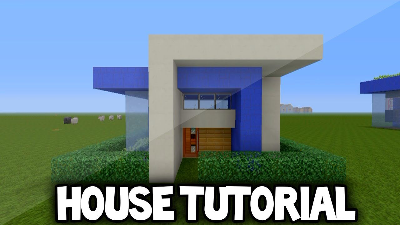 Minecraft Simple Modern House Tutorial (Xbox 360 /Ps3/Xbox one/Ps4 ...