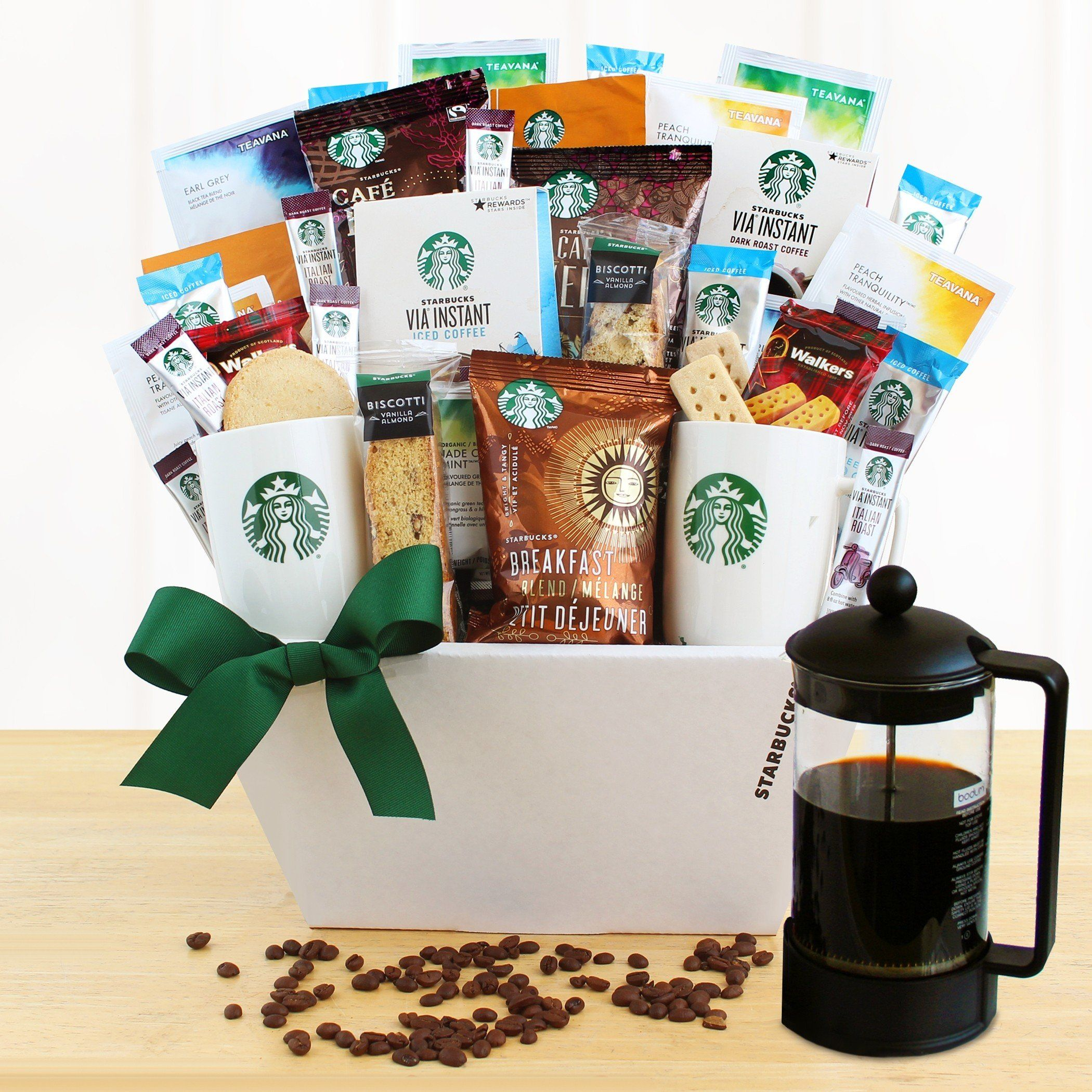 Ultimate Starbucks Coffee Lover's Gift Basket Coffee