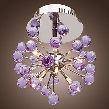 6-light Floral Shape K9 Crystal Ceiling Light-Purple (0942-98004-C-6P) Ceiling Lights http://www.amazon.com/dp/B00OLQ6PGM/ref=cm_sw_r_pi_dp_Dnkewb00AA0WC