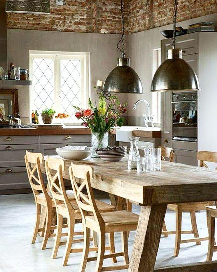 Bom dia! Bonjour! Rustic kitchen design, Rustic kitchen