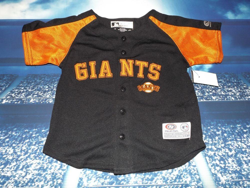 online retailer 7cd04 73036 San Francisco Giants MLB Baseball Jersey, Infant Size 2T ...
