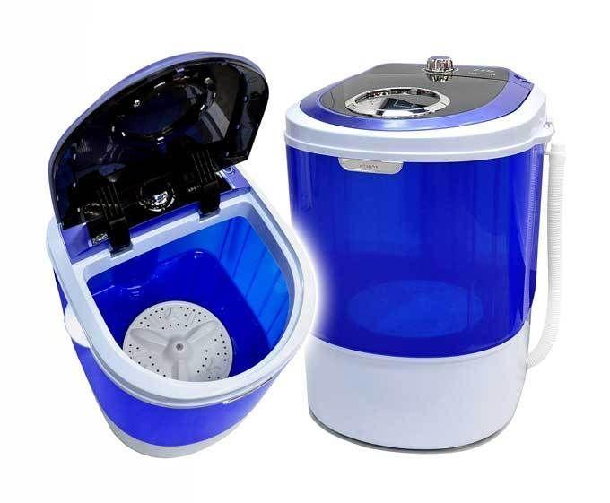 Panda Portable Mini Compact Countertop Washing Machine Washer 5 5