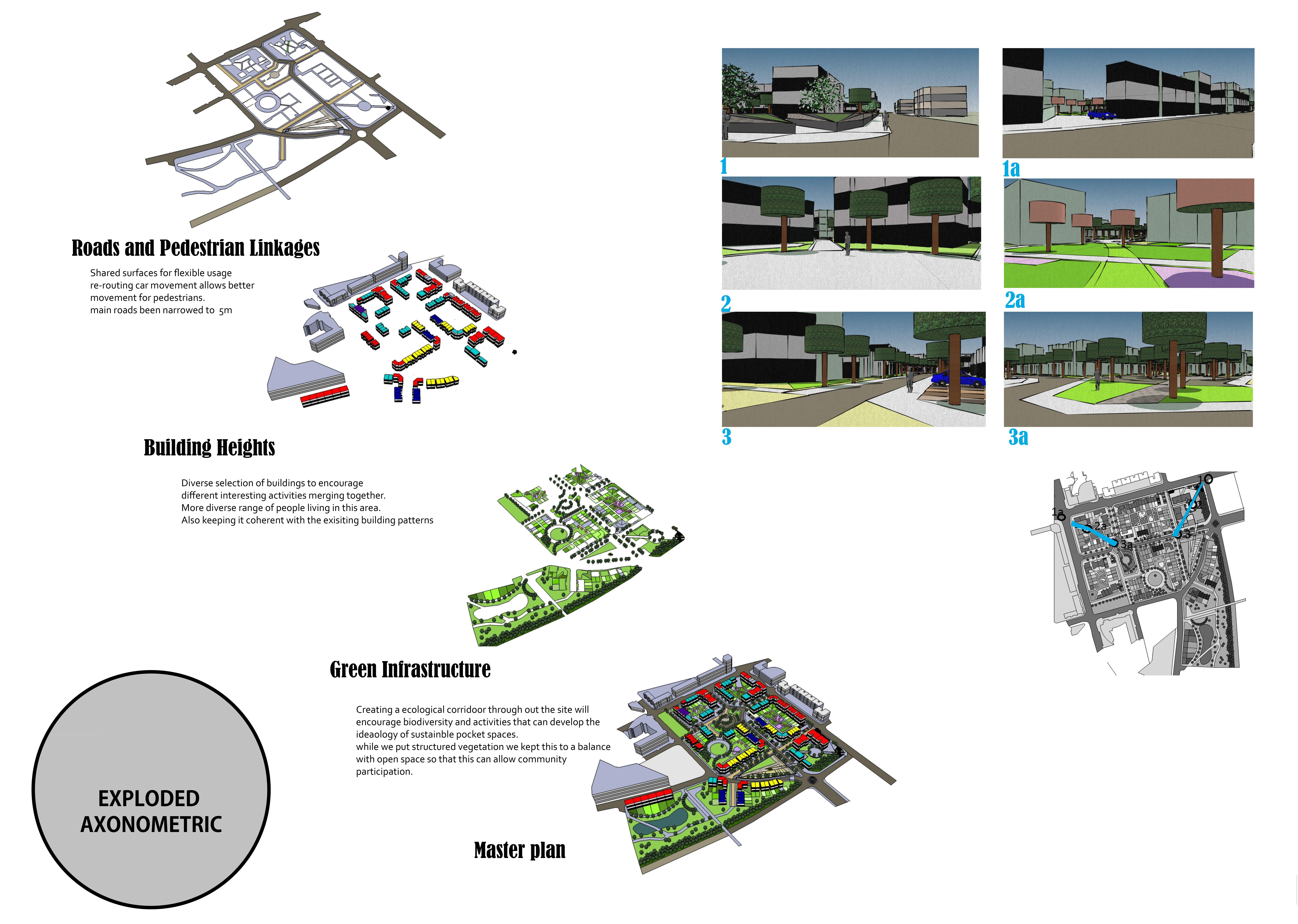 exploded axonometric diagram/drawing | architecture_images ... landscape diagram