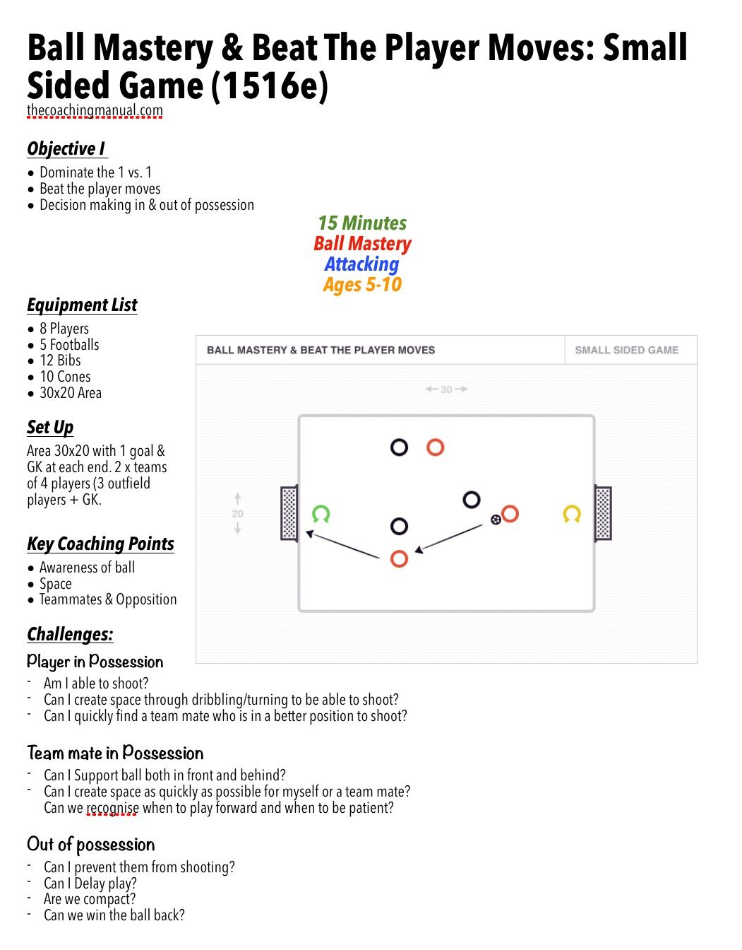 Ball mastery beat the player moves small sided game 1516e soccer skills pooptronica Choice Image