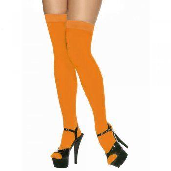 e92ca639d0a Orange knee high socks Velma from Scooby Doo