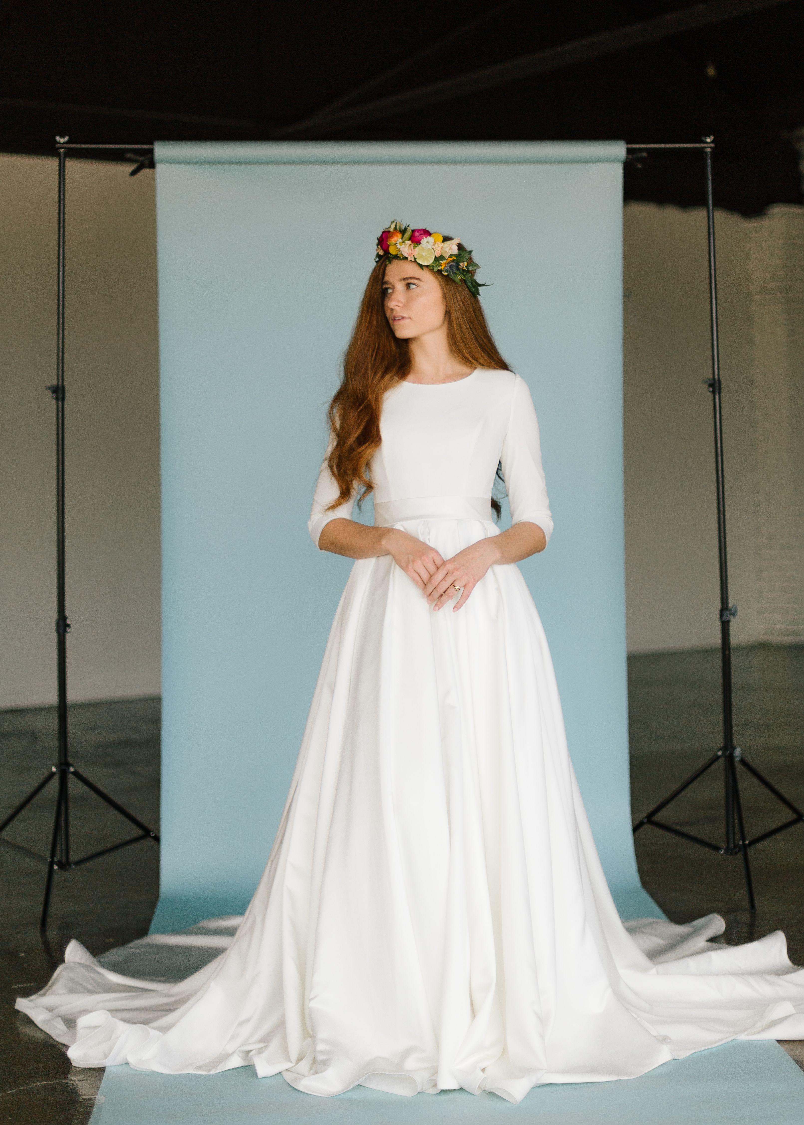 Aretha Gown By Elizabeth Cooper Design Cassandra Farley