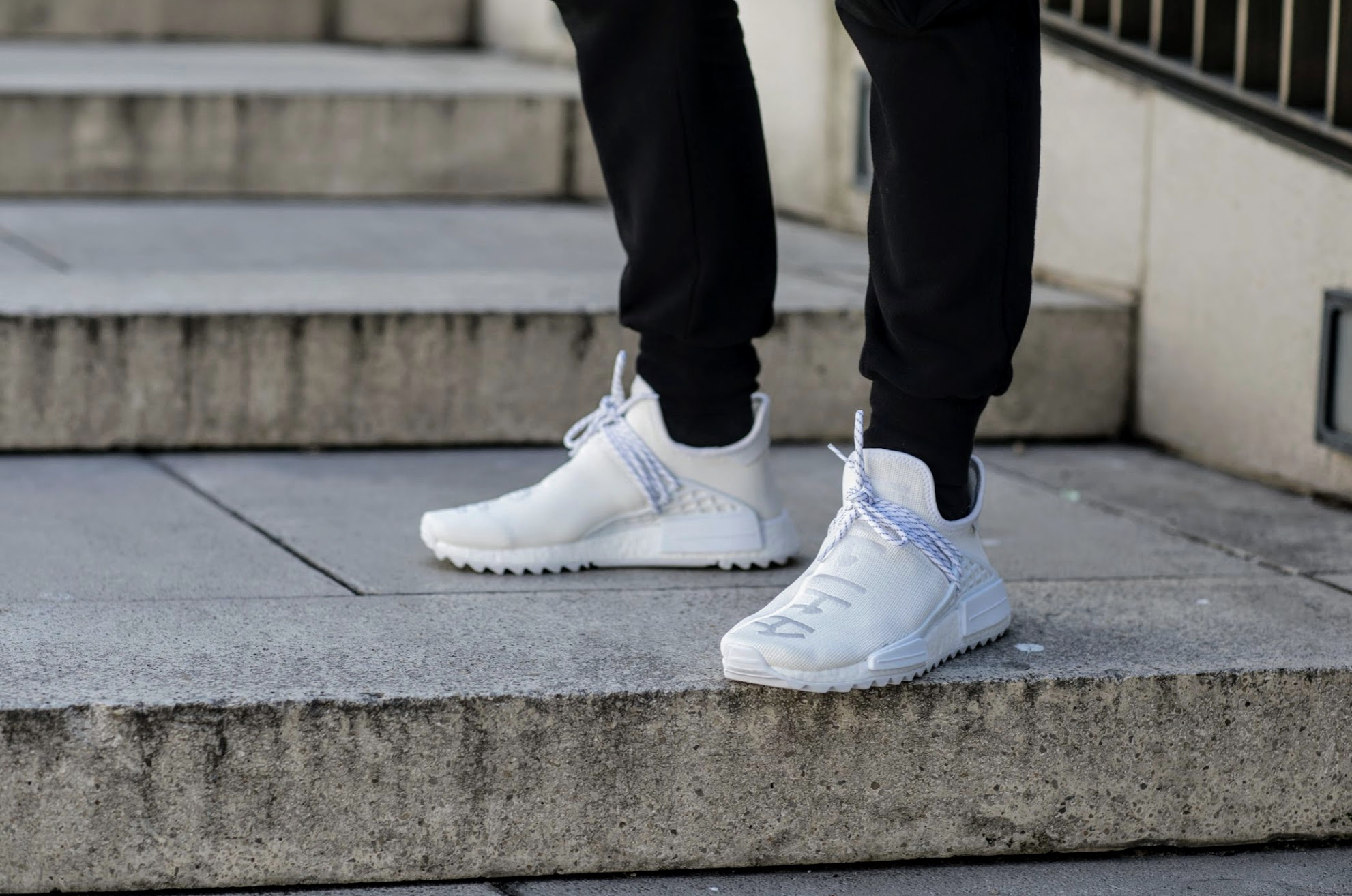 buy popular 6f132 15762 Pharrell x adidas NMD Hu Blank Canvas Review - Kingsdown ...
